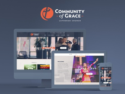 Community of Grace Brandmark & Website