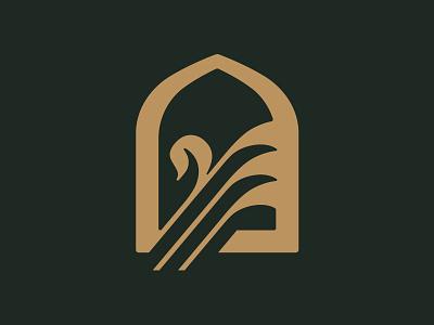 2019 RECAP // 5 // Archway Logo bronze swan arch brandmark brand logo design icon