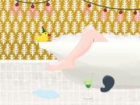 Bathtub Party Day