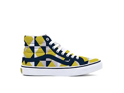 Vans Sonia sonia delaunay color pattern shoes vans