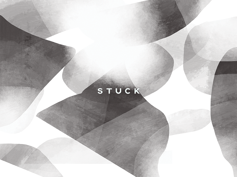 Stuck texture illustration digital drawing