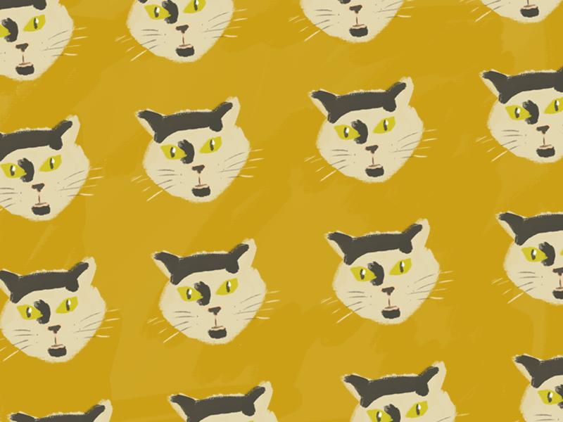 Gino pattern cat illustration