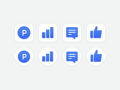 Spoqa App Icons (iOS, Android)