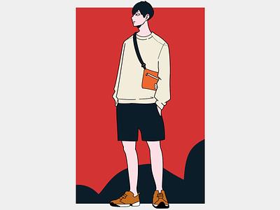 Kageyama Fan Art haikyuu illustration art illustration photoshop illustrator animeart