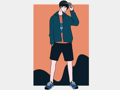 Anime style illustration haikyuu nepali nepal photoshop illustrator illustration art illustration animeart
