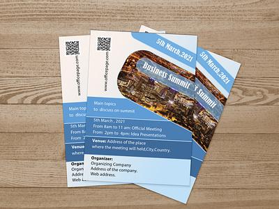 Simple Professional Business Flyer graphic design mockup adobe designer freelancer flyer business professional illustration flyerdesign design najnin