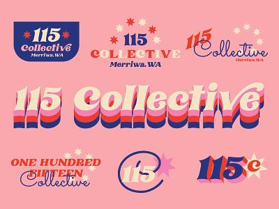 115 Collective Rejected Logo Design austrailia cafe logo coffeeshop mockup branding design branding and identity branding concept retro vector logo branding