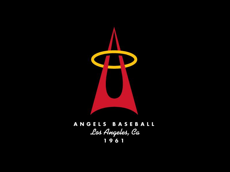 Angels logo concepts blk