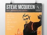Steve McQueen Doc Poster 1/4