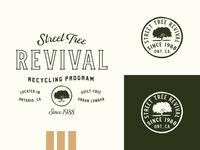 Street Tree Revival Logo Lockup