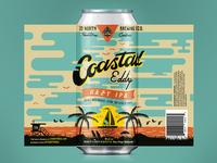 Coastal Eddy Beer Label