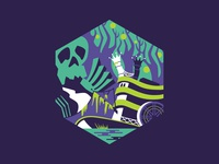 Swamp Land Illustration