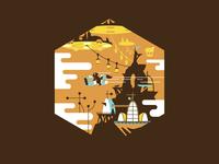 Skyland Illustration