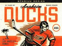Ducks 25th Anniversary Poster