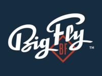 Big Fly Script Logo