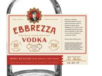 Ebbrezza Vodka Label