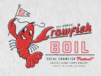 Crawfish Boil Tee