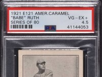 693 1921 e121 american caramel babe ruth