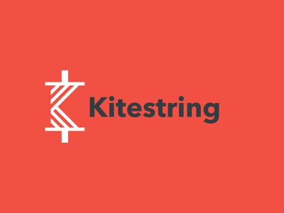 Kitestring Logo Reject brand identity branding identitydesign identity minimal simple education spool vector typography icon branding design branding logo designer logodesign logo