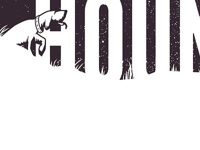 New Logo for Hound branding logo league gothic