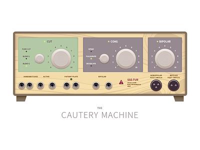 Cautery Machine medical equipment
