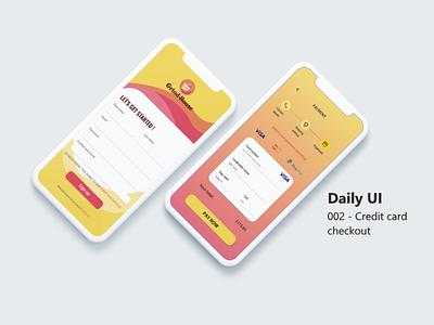 002 - Credit card checkout website art flat minimal web daily 100 challenge dailyuichallenge dailyui adobe app ui design