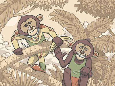 Catalyst (character scene) mind trackers piotr antkowiak illustration