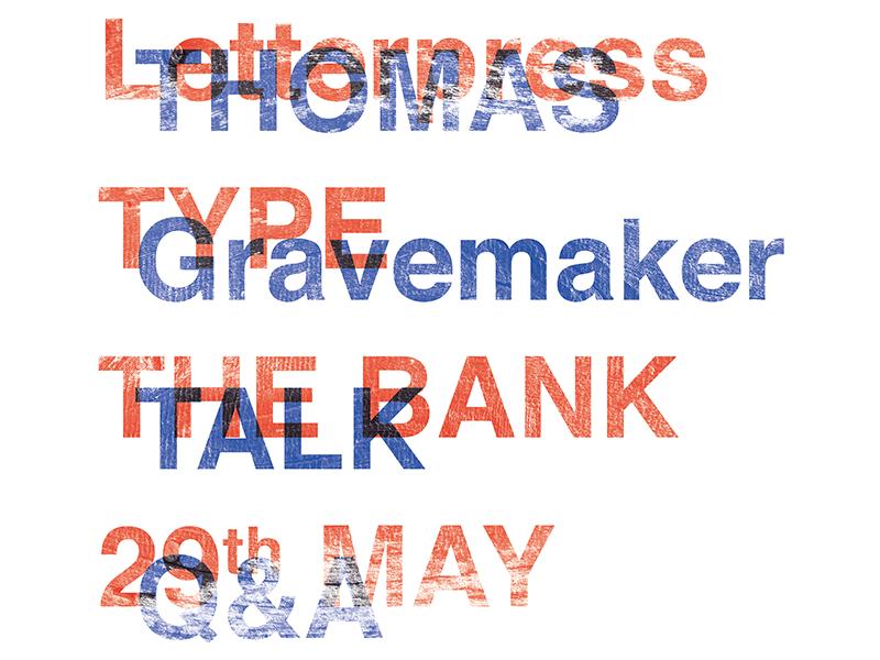 Thomas Gravemaker Talk / Q&A amsterdam graphic design typography letterpress