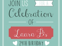 Surprise Friend Invitations