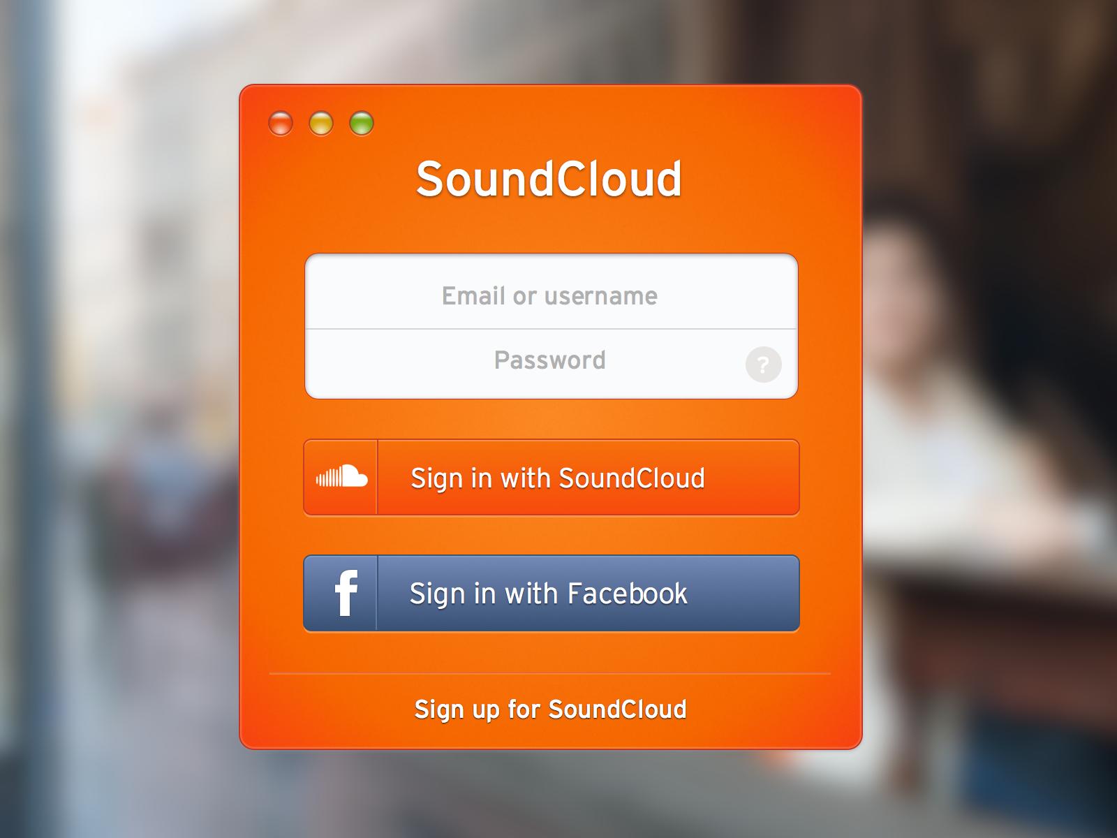Soundcloudlogin full 2x