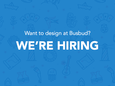 Busbud is hiring a Product Designer