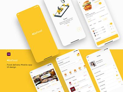 Food delivery app ui design ux ui design app