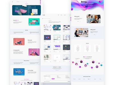 Digital agency web design web ux ui design