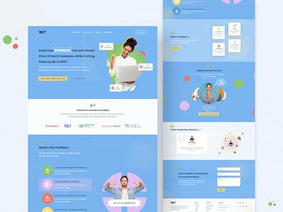 VWN Landing Page Redesign
