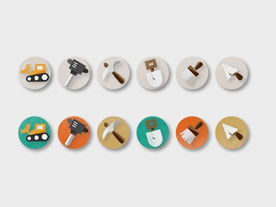 Game Icons ancient excavation archaeology educational game