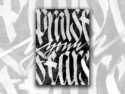 Fears wumpscut poster pltnk calligraffiti lettering calligraphy