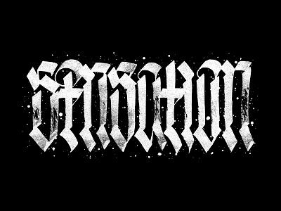 Sensation pltnk calligraffiti lettering calligraphy
