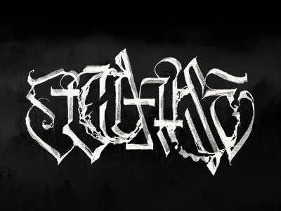 Decompose waves circle interferences experimental alchemy pltnk lettering calligraffiti calligraphy
