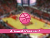 2 Dribbble invites to grab