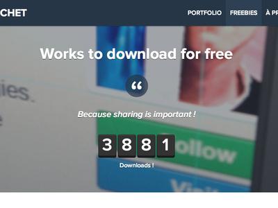 Freebies page france freebies freebie free photoshop portfolio wordpress html5 css3 jquery counter