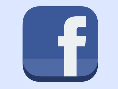logo facebook ios 7