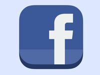 [Freebie] Icon Facebook Flat iOS7 ready