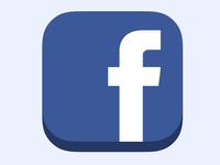 Icon Facebook Flat iOS7 ready v2