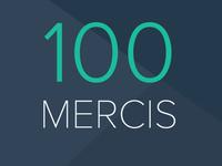 100 Mercis