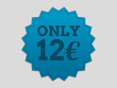 Price Badge france free freebie freebies psd badge price blue