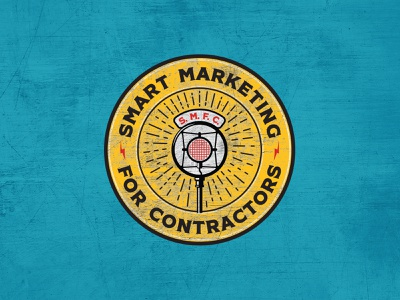 Smart Marketing for Contractors Podcast Artworkf tools microphone radio marketing podcast contractors contractor