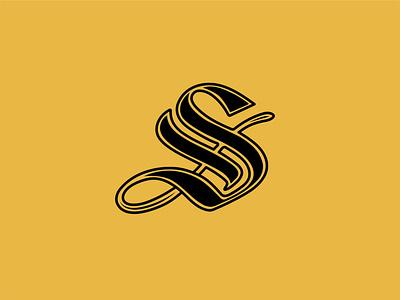 Script S Logo Mark brand mark logo s script lettering script font script