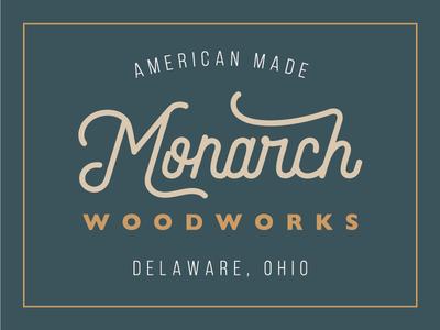 Monarch Woodworks Logo