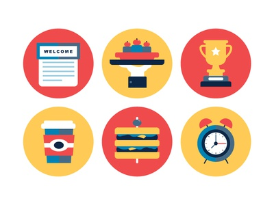 Custom Icons for an Event Website