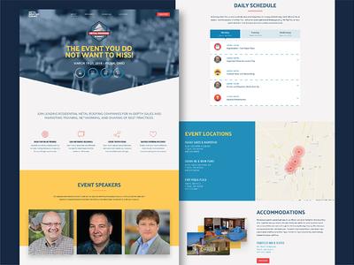Metal Roofing Summit Event Website